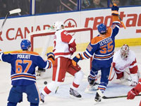 Oilers: Talbot Stands Tall In Win Over Red Wings