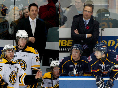 There are some pretty big names coaching major junior hockey in Canada