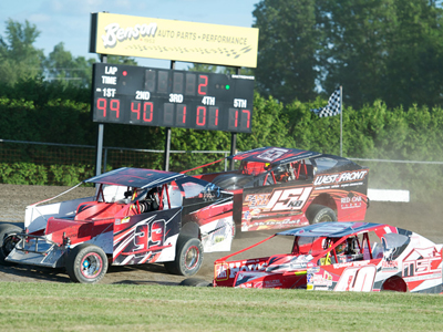 Free admission for kids this Sunday at Cornwall Motor Speedway