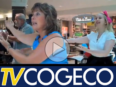 TV Cogeco releases video of Cornwall Square Flash Mob