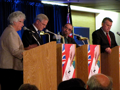 The Gong Show? SDSG Provincial all candidates debate