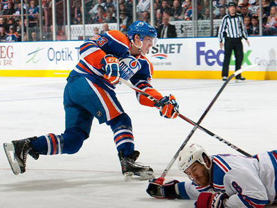 Nugent-Hopkins leads Edmonton Oilers past Rangers