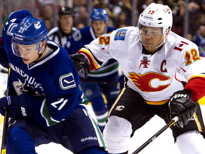 Canucks cruise to a 5-1 home victory over fatigued Flames