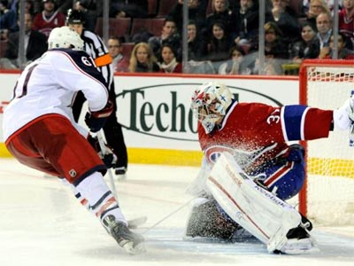 Canadiens pick-pocket Jackets for single point in shootout loss