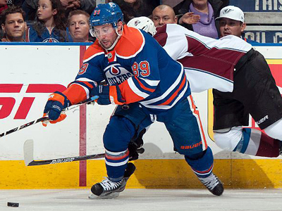 Gagner to the Rescue, Oilers beat Avalanche