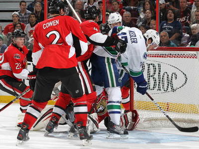Senators play Russian Roulette with Canucks and get blasted 4-1