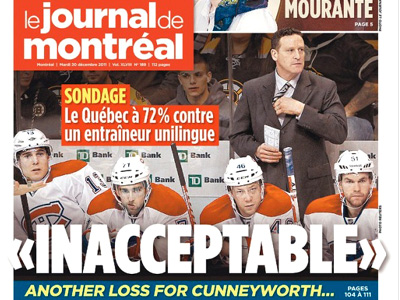 Have the Montreal Canadiens just gotten too fat?