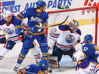 Hurting Oilers fall to Sabres