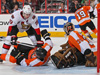 Briere brings Senators winning streak to a crashing halt