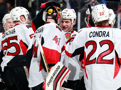 Senators continue their domination at Madison Square Garden
