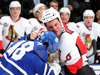 Refs help Sens to a 3-2 win over the Leafs