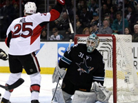 Sens win fifth straight on road with victory in San Jose