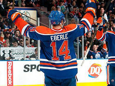 Oilers winger Jordan Eberle will silence doubters, once the NHL returns
