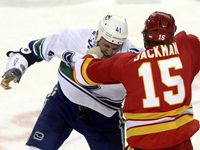 Calgary crawls to a 3-2 shootout victory over Vancouver