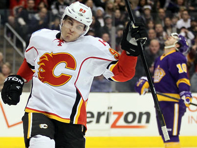 Calgary Flames beat Los Angeles Kings in LA