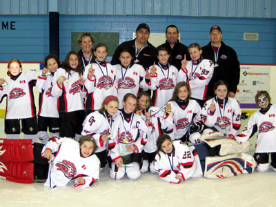 Cornwall Atom Typhoons win Durham West Rep Tournament