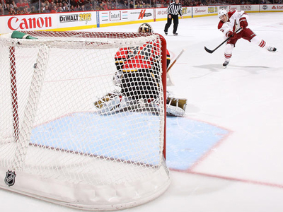 Coyotes snatch important victory away from Calgary in a Shootout