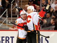 Flames snap Coyotes eleven game win streak with a 3-2 victory
