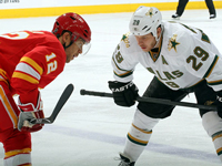 Flames playoff hopes dashed in Dallas