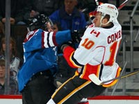 Flames handed third straight loss in heartbreaking fashion against Avalanche