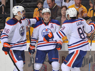 Hemsky scores three and Dubnyk outstanding in Oilers win over Preds