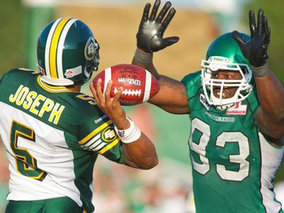 CFL - Eskimos hit panic button with talk of Joseph becoming starting QB