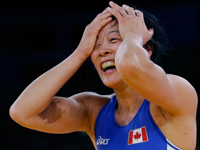 2012 Olympics: Wrestling - Huynh finds the podium one more time
