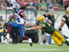CFL - Alouettes cruise past an uninterested group of Eskimos