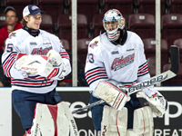 Oshawa Generals' tandem stacking the pads for a successful 2012-13 OHL season