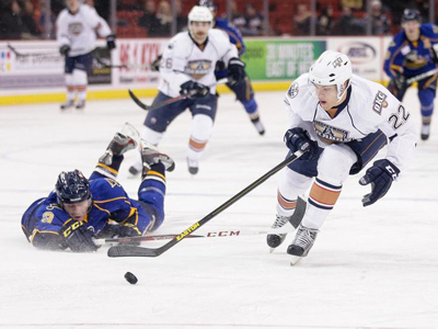 Barons drop another, despite two point night from Justin Schultz