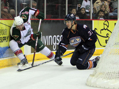 Hackett continues mastery over Barons in Aeros 4-2 win