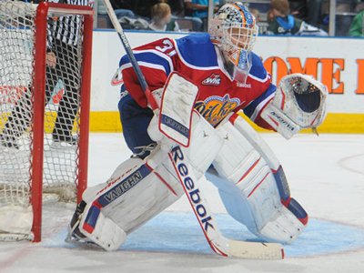 Brossoit blanks Hurricanes in Oil Kings 4-0 win