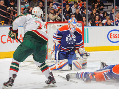 Oilers fall to Wild and likely lose Hall to suspension