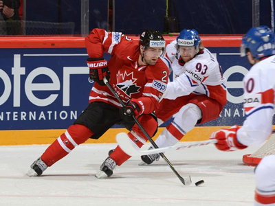 Make it four straight, as Canada edge Czech Republic 2-1