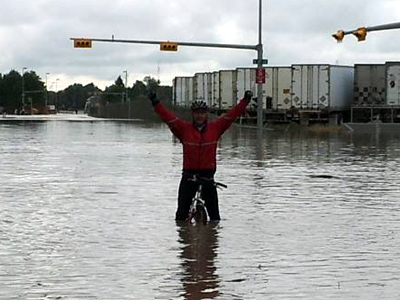 Calgary Flooding - Surreal, a major Canadian City underwater
