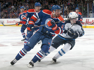 Dubnyk hands Jets two points, as Oilers blow two goal lead