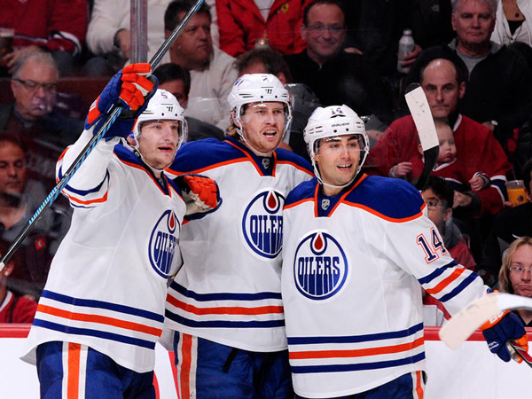Jeff Petry and the Edmonton Oilers