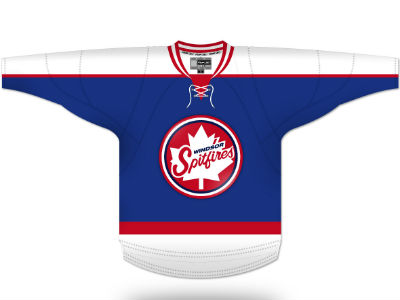Spitfires unveil OHL Outdoor Game jerseys