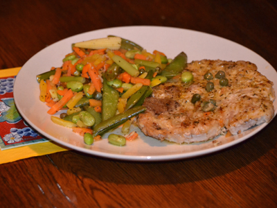 Lemony Delicious Pork Piccata