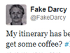 Let @FakeDarcy's end serve as a death to parody accounts