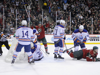 Oilers fail to show up against the injury-riddled Wild