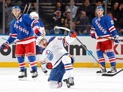 Yakupov pots late winner, as Oilers edge Rangers