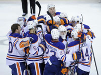 Oilers find a way, as Hall scores shootout winner