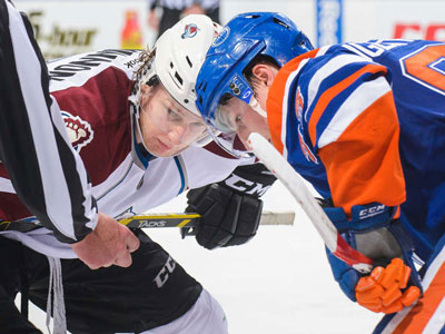 Avalanche are where the Oilers were hoping to be