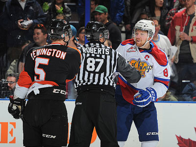 WHL Playoffs: Oil Kings destroy Medicine Hat in opener