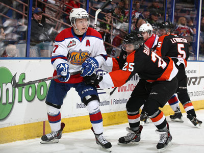 WHL Playoffs: Lazar leads the way as Oil Kings edge Tigers