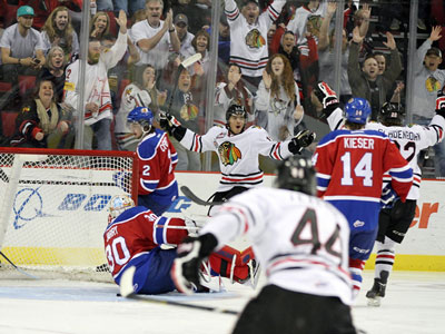 WHL Playoffs: Oil Kings drop opener to Winterhawks, Jarry struggles