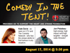 Comedy in the Tent, in support of Heart and Stroke