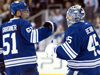 Maple Leafs get back to .500 against lowly Sabres