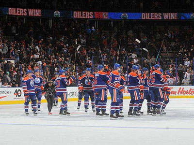 Oilers showing signs of mild improvement on home ice